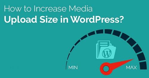 increase the maximum file upload size in wordpress 1 3 روش افزایش حجم آپلود فایل در وردپرس