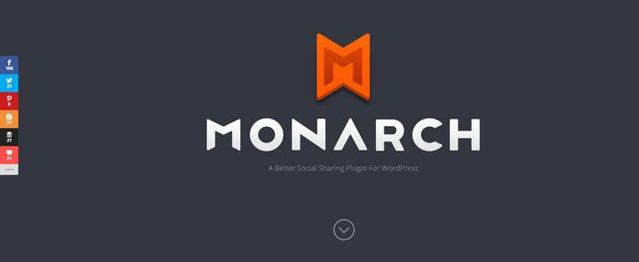 پلاگین وردپرس Monarch برای اشتراگ گذاری در شبکه های اجتماعی