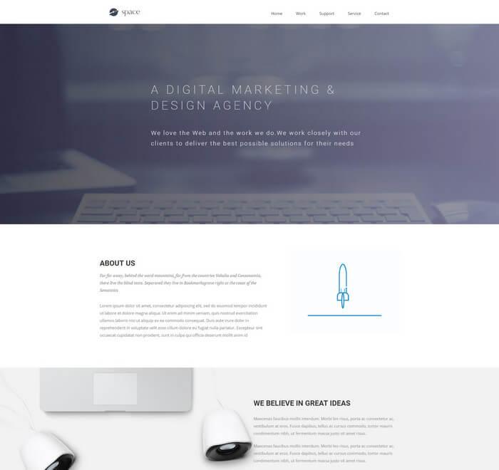 معرفی 3 مورد قالب html رایگان برای وب سایت شما