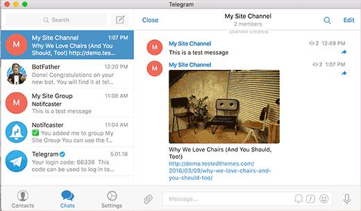 نحوه وصل وبسایت وردپرسی خود به تلگرام