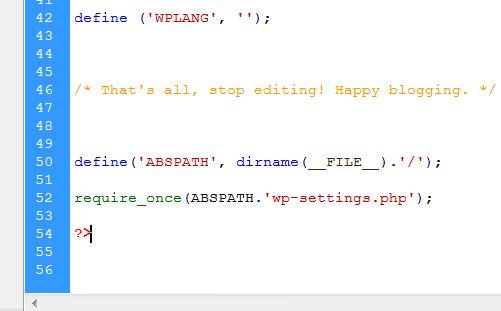 header2 wp config 10 خطای رایج وردپرس با راه حل
