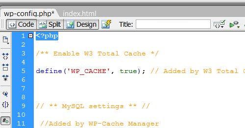 header wp config 10 خطای رایج وردپرس با راه حل