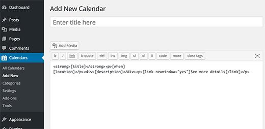نحوه اضافه کردن تقویم گوگل در وردپرس