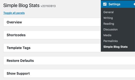 نحوه نمایش کامل آمار وبسایت در وردپرس
