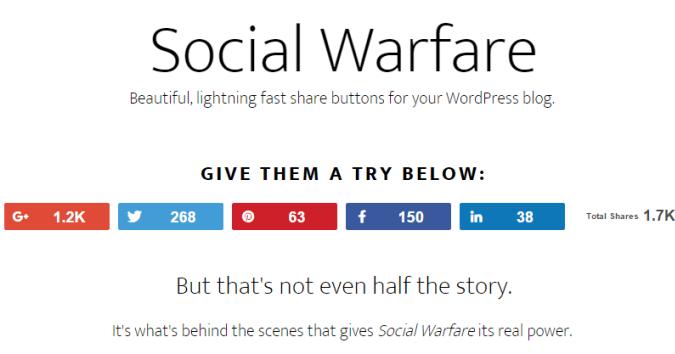 social warfare 2 افزونه