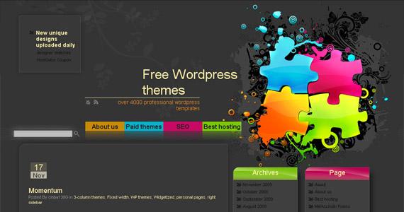 wptemplates best free wordpress theme site مزایا و معایب استفاده از قالب