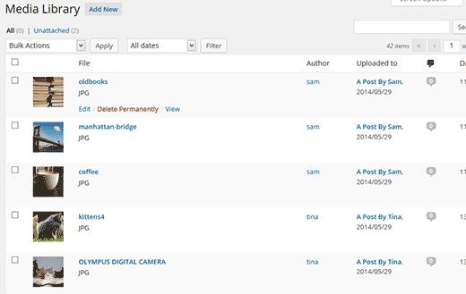 نحوه مدریت کردن بخش اپلود سایت توسط کاربران