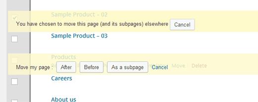 نحوه مدیریت پیشرفته صفحات وردپرس
