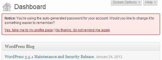 نحوه ایجاد رمز عبور قوی برای کاربران وردپرسی