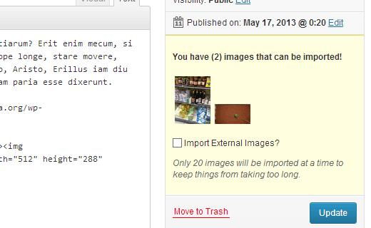 نحوه ایمپورت کردن تصاویر از سایت های دیگر در وردپرس